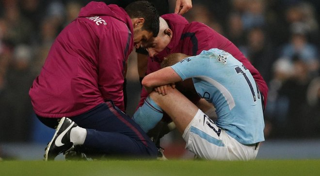 Гвардіола: Травма де Брюйне – велика втрата для Манчестер Сіті