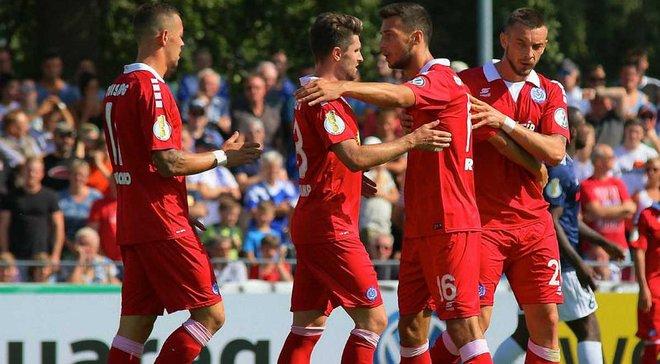 Кубок Германии: Тащи забил гол и вывел Дуйсбург дальше, действующий обладатель трофея Айнтрахт сенсационно вылетел