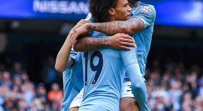 Манчестер Сіті – Хаддерсфілд – 6:1 – відео голів та огляд матчу