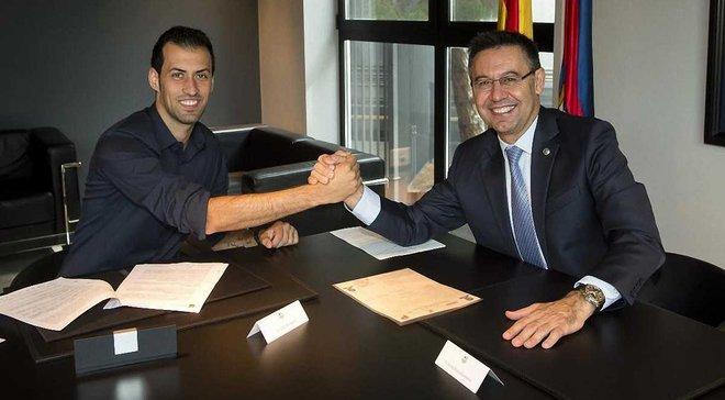 Барселона покращить умови контракту Бускетса