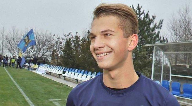 Супряга став найкращим юним українським футболістом U-19 у липні