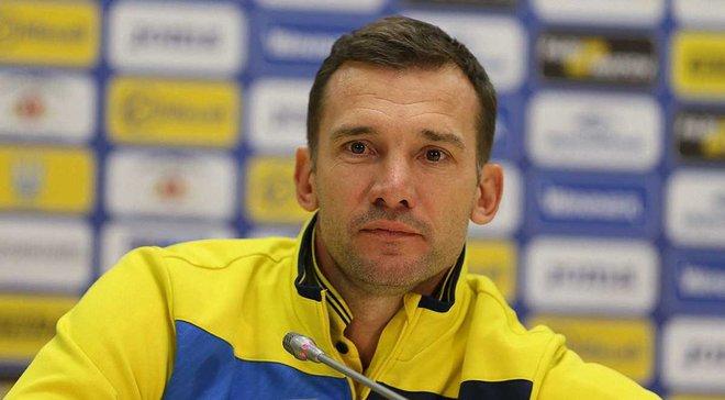 Шевченко вызвал в сборную Украины 8 легионеров на матчи против Чехии и Словакии