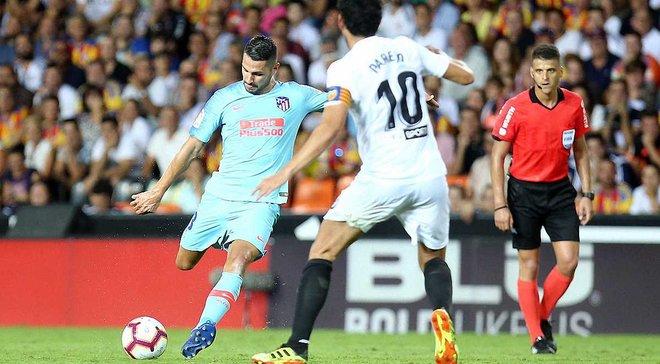Валенсия – Атлетико – 1:1 – видео голов и обзор матча