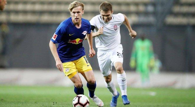 Зоря – РБ Лейпциг – відеоогляд матчу