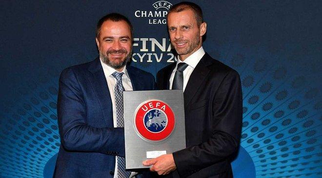 ФФУ підтримає Чеферіна на виборах президента УЄФА