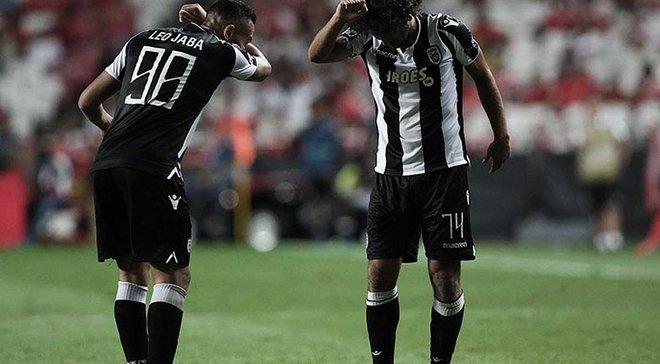 Бенфика – ПАОК – 1:1 – видео голов и обзор матча