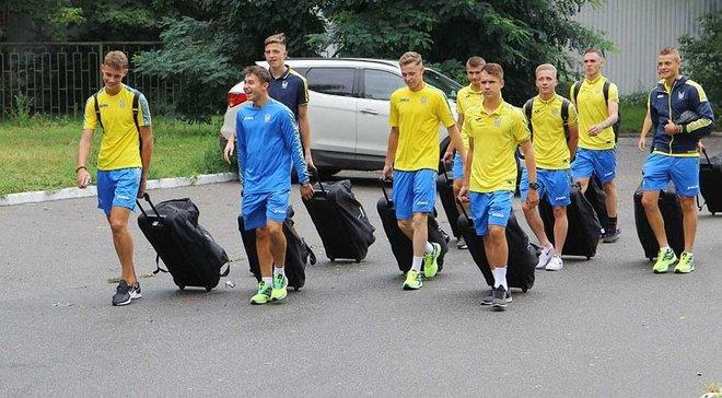 Сборная Украины U-18 проиграла Венгрии во втором матче турнира Вацлава Ежика