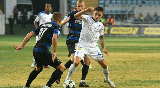 Динамо упустило победу над Черноморцем