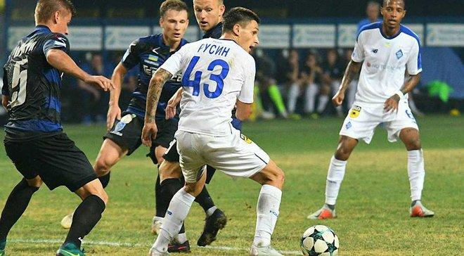 Черноморец – Динамо – 1:1 – видео голов и обзор матча