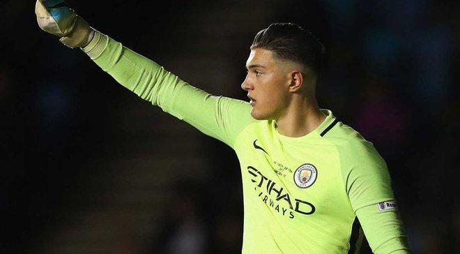 Манчестер Сити вернул из аренды вратаря Мурича из-за травмы Браво