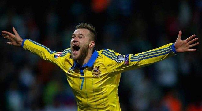 Ярмоленко привітав з Днем Незалежності України