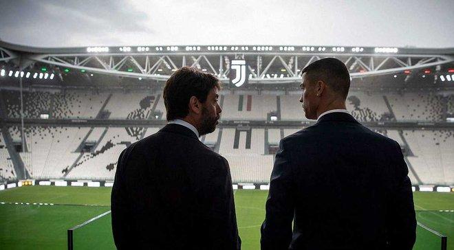 Манчіні: Шкода, що Роналду приїхав у Серію А не 15 років тому