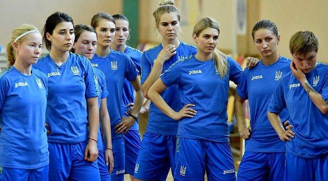 Определились все соперники женской сборной Украины по футзалу на Евро-2019