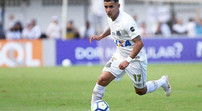 Дерлис Гонсалес забил фантастический гол за Сантос – за Динамо он так не отличался