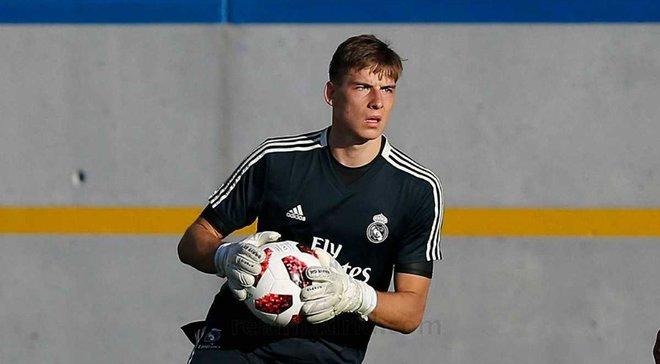 Лунин не попал в заявку Реала на матч з Жироной