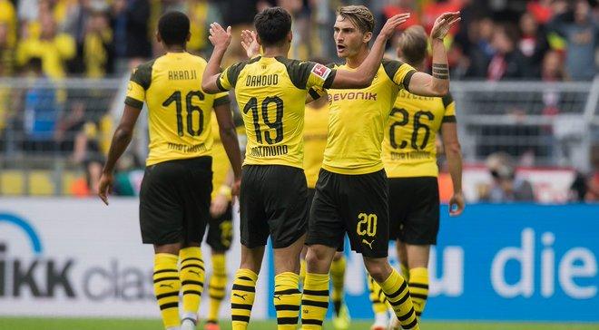 Боруссия Дортмунд разгромила соперника Зари в Лиге Европы РБ Лейпциг
