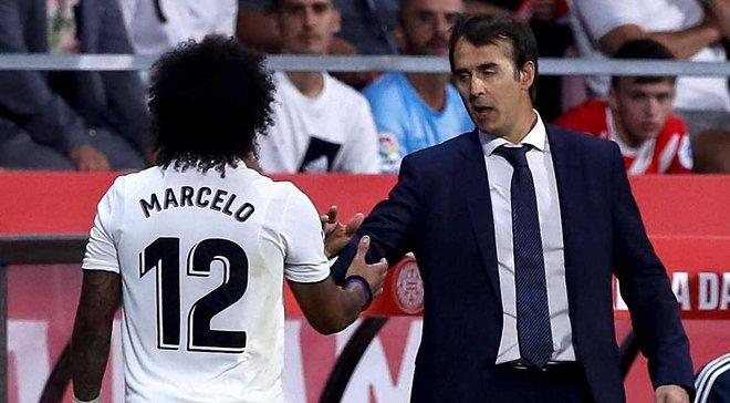 Лопетегі не визнає авторитетів: Марсело став першою жертвою баска та публічно поскаржився