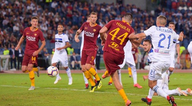 Рома та Аталанта розписали бойову нічию із 6-ма голами