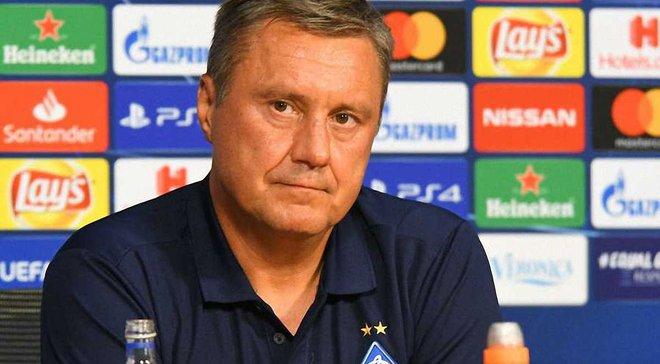 Хацкевич: Динамо потрібен форвард, але у нас є певний рівень зарплат
