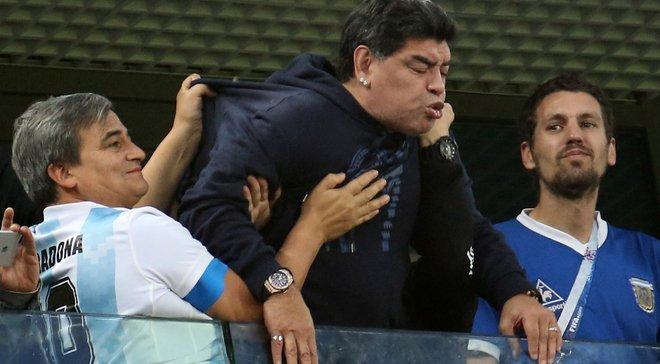 Марадона может покинуть Динамо Брест