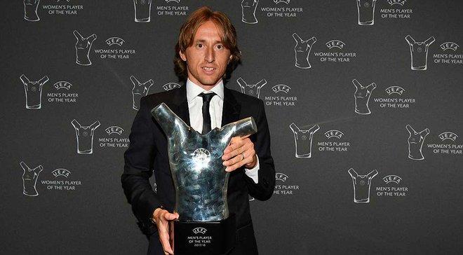 Модрич посвятил награду лучшего игрока сезона 2017/18 своему отцу