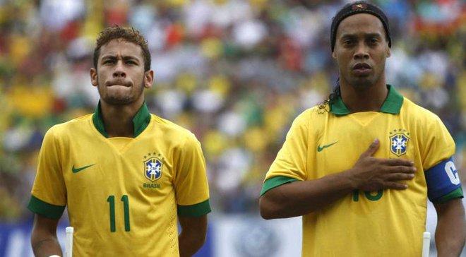 Роналдиньо: Был бы очень рад, если бы Неймар вернулся в Барселону