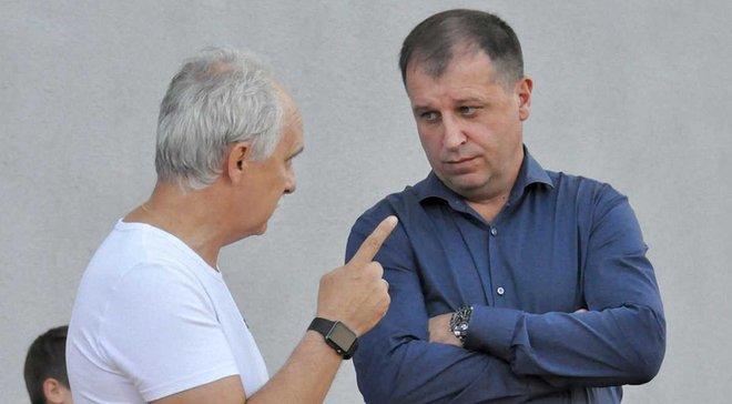 Рафаїлов: На сайті Зорі не вказано про відставку Вернидуба, тому питання закрите