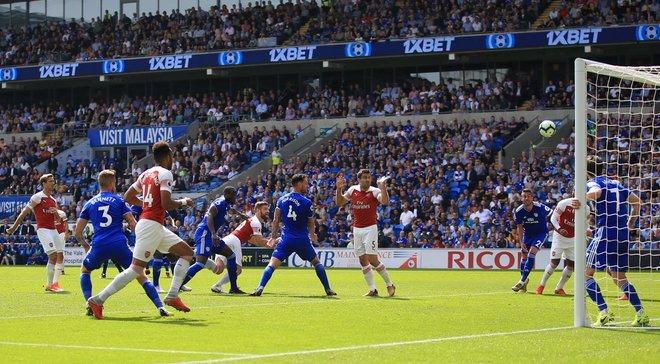 Арсенал вырвал победу у Кардиффа