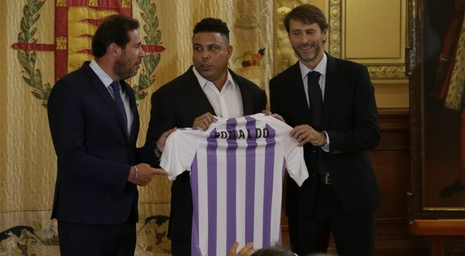 Роналдо официально завершил покупку Вальядолида
