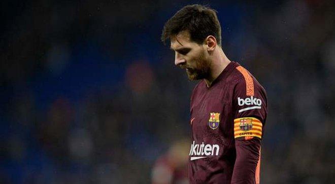 Месси впервые за 12 лет не вошел в тройку претендентов на игрока года по версии ФИФА