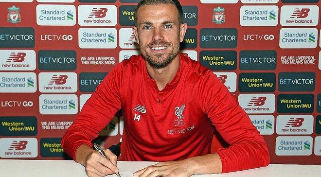 Хендерсон подписал новый долгосрочный контракт с Ливерпулем