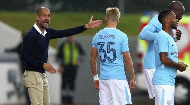 Зинченко попал в заявку Манчестер Сити на Лигу чемпионов