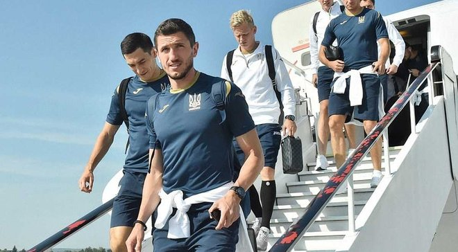 Збірна України прибула до Чехії на матч Ліги націй