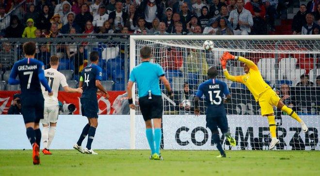 Ліга націй: Німеччина та Франція розписали безгольову нічию
