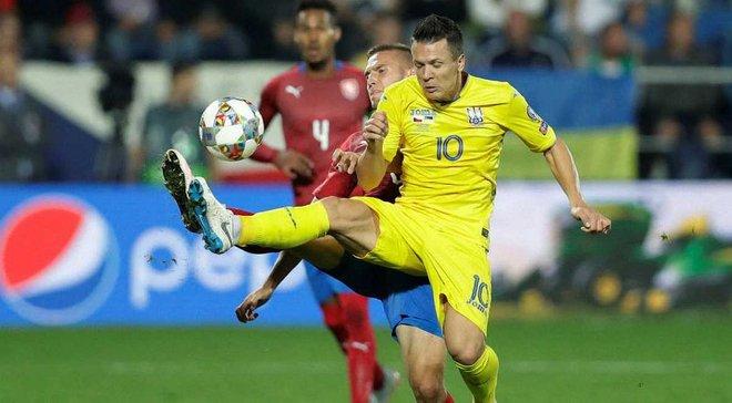Чехия – Украина –1:2 – видео голов и обзор матча