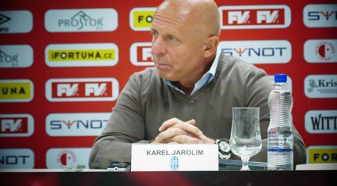 Чехія– Україна: передматчева прес-конференція Карела Яроліма