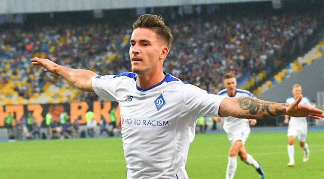 Вербіч – найкращий гравець Динамо за підсумками серпня