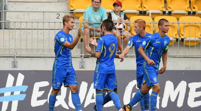 Юношеская сборная Украины U-19 с победы начала свое выступление на Кубке Федерации футбола Латвии