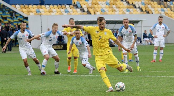 Украина – Словакия – 1:0 – видео гола и обзор матча
