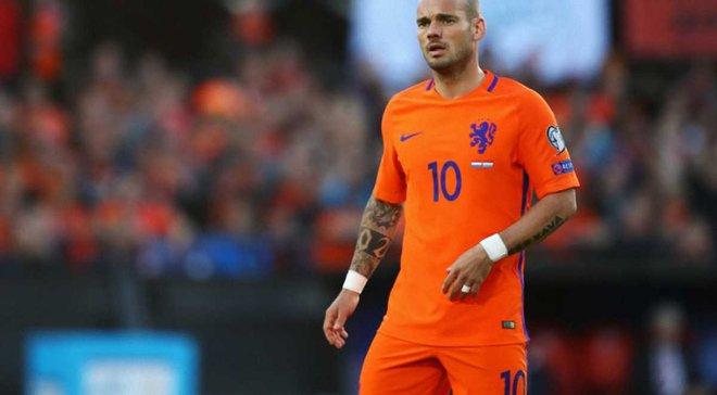 Снейдер провів прощальний матч за збірну Нідерландів