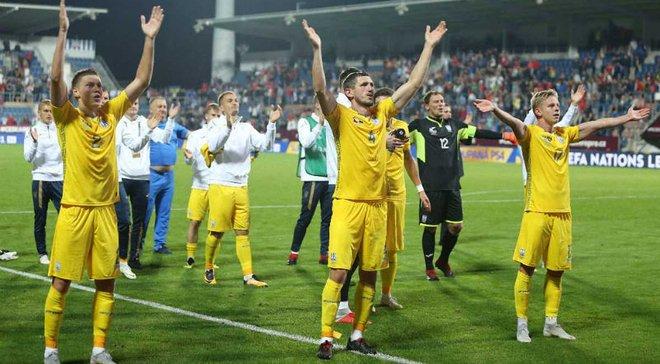 """""""Если бы матч закончился ничьей, это была бы удача"""" – реакция чешских СМИ на победу Украины в матче Лиги наций"""