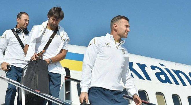 Збірна України прибула до Львова на матч Ліги націй проти Словаччини