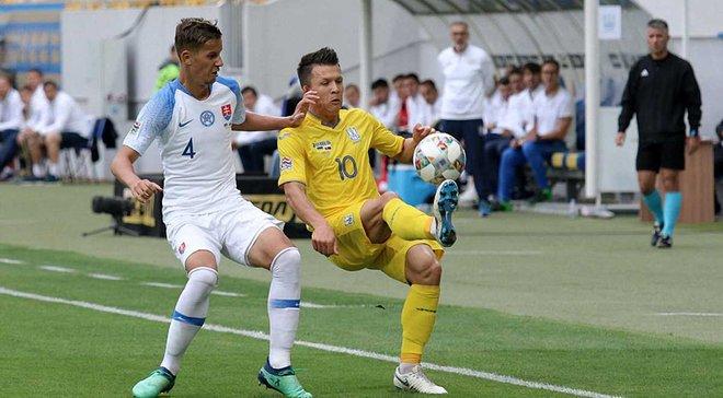 Україна – Словаччина: онлайн-трансляція матчу Ліги націй – як це було