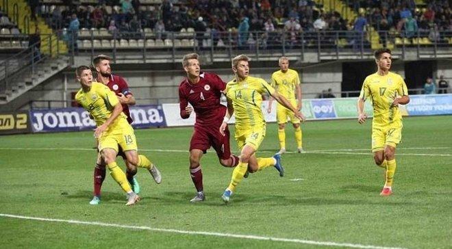 УкраинаU-21 – ЛатвияU-21 – 3:2 – видео голов и обзор матча