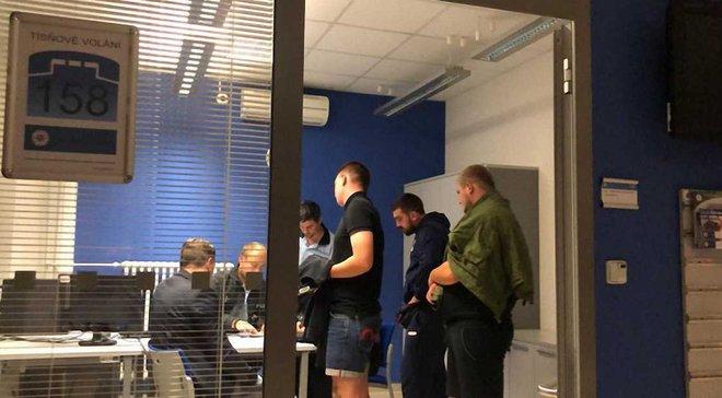 Чехия – Украина: задержанные болельщики заплатят 7 тысяч евро штрафа