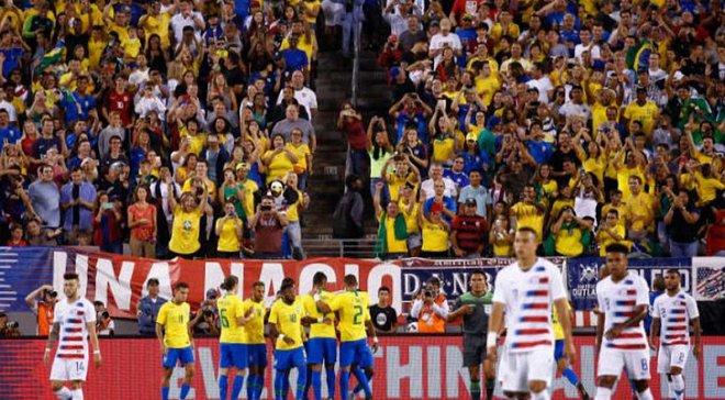 Товариські матчі: Аргентина  розібралась з Гватемалою, Бразилія обіграла США