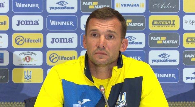 Україна – Словаччина: передматчева прес-конференція Андрія Шевченка