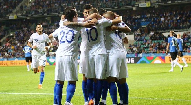 Ліга націй: Люксембург розтрощив Молдову, Греція обіграла Естонію