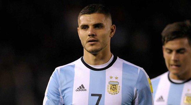 Икарди: Я страдал, смотря на игры сборной Аргентины дома по телевизору