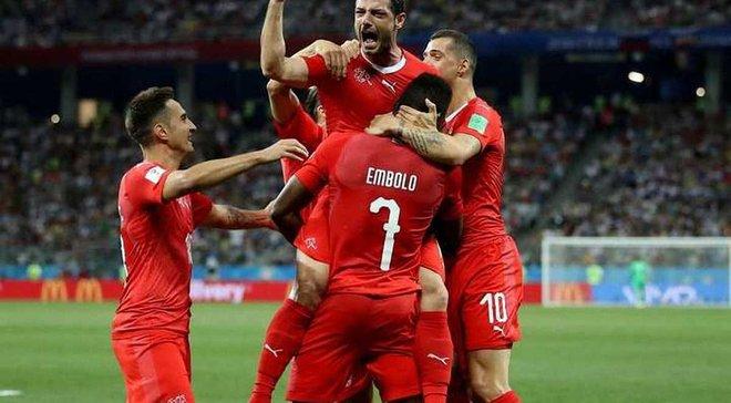 Швейцария – Исландия – 6:0 – видео голов и обзор матча
